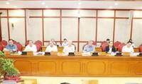 Tổng Bí thư chủ trì họp về các đề án chuẩn bị trình Hội nghị TW 8
