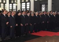 Cử hành trọng thể Lễ Quốc tang Chủ tịch nước Trần Đại Quang
