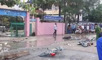 2 học sinh tử vong, 2 em khác nguy kịch trước cổng trường