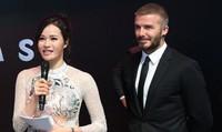 Tiết lộ bí mật về BTV Thu Hương VTV với David Beckham tại Paris