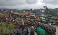 Lốc xoáy 2 phút tốc mái 45 ngôi nhà, làm 17 người bị thương