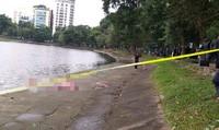 Tá hỏa phát hiện thi thể người đàn ông trên hồ Thiền Quang