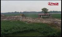 """Ai đang bảo kê cho """"cát tặc"""" lộng hành tại Cẩm Khê – Phú Thọ?"""
