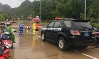 Ngập nặng tại Quảng Ninh, hơn 100 hộ dân phải di dời, Quốc lộ 18 bị chia cắt