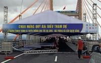 Những lỗ lực cuối cùng trước giờ thông xe cầu Bạch Đằng