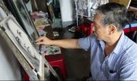 """""""Thần khí"""" trong những bức chân dung của họa sĩ có đôi chân xiêu vẹo"""
