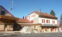 Nơi khách ngủ ở Thụy Sĩ nhưng phải sang Pháp nếu muốn đi toilet