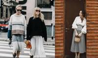 """3 cách chọn váy midi cực chuẩn cho các nàng """"nấm lùn"""""""