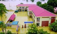 Lo lắng mùa tựu trường trong… nước ngập