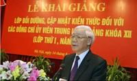 Tổng Bí thư Nguyễn Phú Trọng: Phải học tập nghiêm túc với tinh thần cầu thị