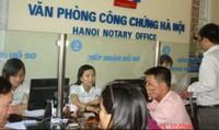 Chuẩn bị thành lập Hiệp hội công chứng viên Việt Nam