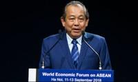 Bế mạc Hội nghị WEF ASEAN 2018: Phối hợp chặt chẽ để hiện thực hóa các ý tưởng thành chương trình hợp tác