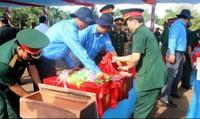 Tìm kiếm, cất bốc hài cốt liệt sĩ quân tình nguyện Việt Nam tại Campuchia