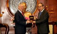 Bộ trưởng Quốc phòng Mỹ thăm Việt Nam lần thứ 2 trong năm