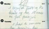 Cuốn nhật ký ám ảnh của nữ sát nhân trẻ tuổi