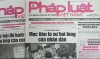 Mời đặt mua Báo Pháp luật Việt Nam Quý I năm 2019