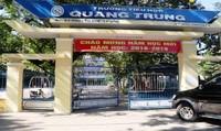 Trường tiểu học Quang Trung trả lại hàng trăm triệu tiền thu sai quy định