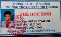 Quảng Nam: Hai học sinh mất tích sau khi đi học thêm