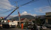 EVNCPC huy động tổng lực khắc phục hậu quả cơn bão số 12