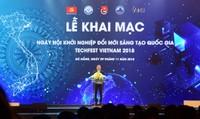 Khai mạc ngày hội khởi nghiệp đổi mới sáng tạo Quốc gia- Techfest Vietnam 2018