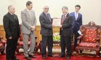 Bộ trưởng tiếp xã giao Chánh án thứ nhất Tòa án Tối cao Angieri