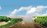 Chất lượng nguồn nước vùng Đồng bằng sông Cửu Long: Mực nước thấp nhất trong gần một thế kỷ