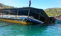 Điều tra vụ sập bè nổi trên vịnh Vĩnh Hy