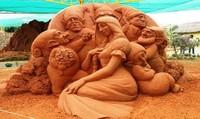 Độc đáo công viên tượng cát ở Phan Thiết