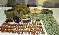 Hành khách người Đài Loan vận chuyển vũ khí quân sự lên máy bay