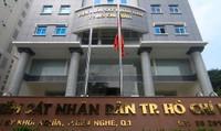 TP Hồ Chí Minh: VKS TP công bố quyết định trực tiếp kiểm sát hoạt động THADS