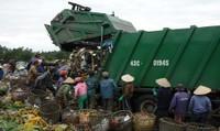 Một ngày ở bãi rác  lớn nhất Đà Nẵng