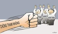 Tiếp diễn trận chiến  chống tham nhũng