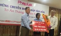 Tấm lòng của những người làm Báo Pháp luật Việt Nam