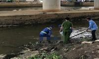 Thi thể nam thanh niên trôi trên sông Sài Gòn