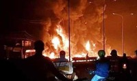 Xác định danh tính các nạn nhân trong vụ cháy xe bồn chở xăng