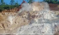 Tân Ngọc Minh lén lút khai thác khoáng sản, dân kêu trời vì bị ô nhiễm