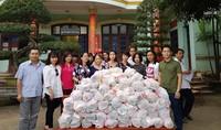 Hội đồng hương Ninh Bình chia sẻ khó khăn cùng nhân dân vùng lũ