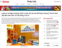"""Ai đang """"tiếp tay"""" cho Công ty Cổ phần Xuất nhập khẩu Thanh Hoá tẩu tán tài sản?"""