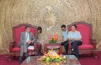 Tổng cục trưởng Hải quan tiếp và làm việc với Đại sứ Anh tại Việt Nam và Đại diện của Hải quan Anh tại khu vực Châu Á