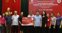 TMS Group:  Trao tặng 350 triệu đồng hỗ trợ nạn nhân chất độc da cam, người nghèo tại Vĩnh Phúc
