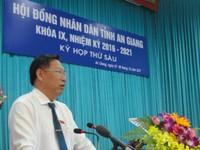 Ông Trần Anh Thư làm Phó Chủ tịch UBND tỉnh An Giang