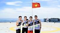 Cuộc đua HCMC Skyrun 2018:  Dân mạng trầm trồ thán phục sân đỗ trực thăng Việt Nam đầu tiên đẹp như phim Hollywood