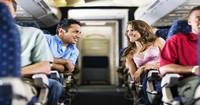 Nghệ thuật tán tỉnh trên máy bay