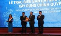 VNPT được trao biên bản ghi nhớ hợp tác đầu tư xây dựng Chính quyền điện tử tại Quảng Bình