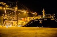 Cảng Việt Nam đón tàu của công ty vận tải container lớn thứ hai trên thế giới