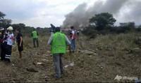 Máy bay rơi ở Mexico, may mắn không có người thiệt mạng