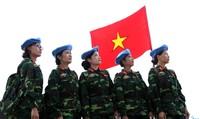 'Hình ảnh bộ đội Cụ Hồ đội mũ nồi xanh là biểu tượng Việt Nam gửi tới bạn bè quốc tế'