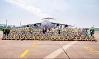 Máy bay vận tải quân sự lớn nhất Australia chuyển Bệnh viện dã chiến Việt Nam sang Nam Sudan