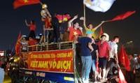 Cổ động viên sang Malaysia cổ vũ nên hạn chế đến quảng trường Merdeka ngày 8/12