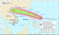 Dự báo thời tiết 14/9: Siêu bão Mangkhut có khả năng ảnh hưởng trực tiếp tới Vịnh Bắc Bộ